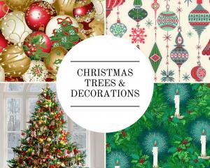 Christmas - Trees & Decorations