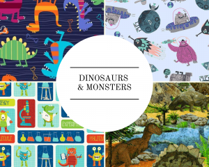 Dinosaurs & Monsters