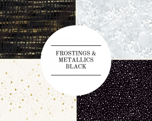 Frostings & Metallics - Black
