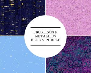 Frostings & Metallics - Blue & Purple