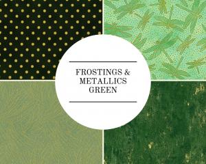 Frostings & Metallics - Green