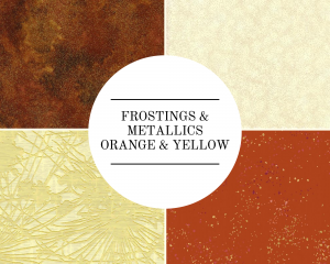 Frostings & Metallics - Orange/Yellow