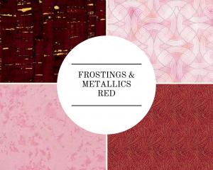 Frostings & Metallics - Red