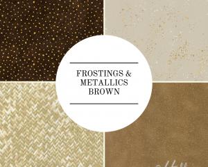 Frostings & Metallics - Brown