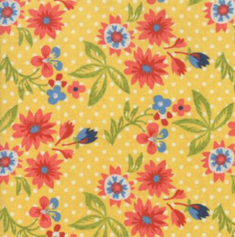 Biscuits & Gravy - Grow Daisies Yellow Basket 30481-13