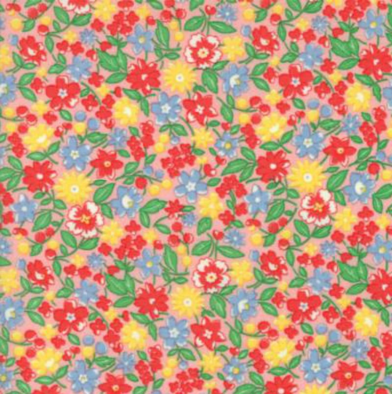 30s Playtime 2017 - Flowers Pink 33210-15