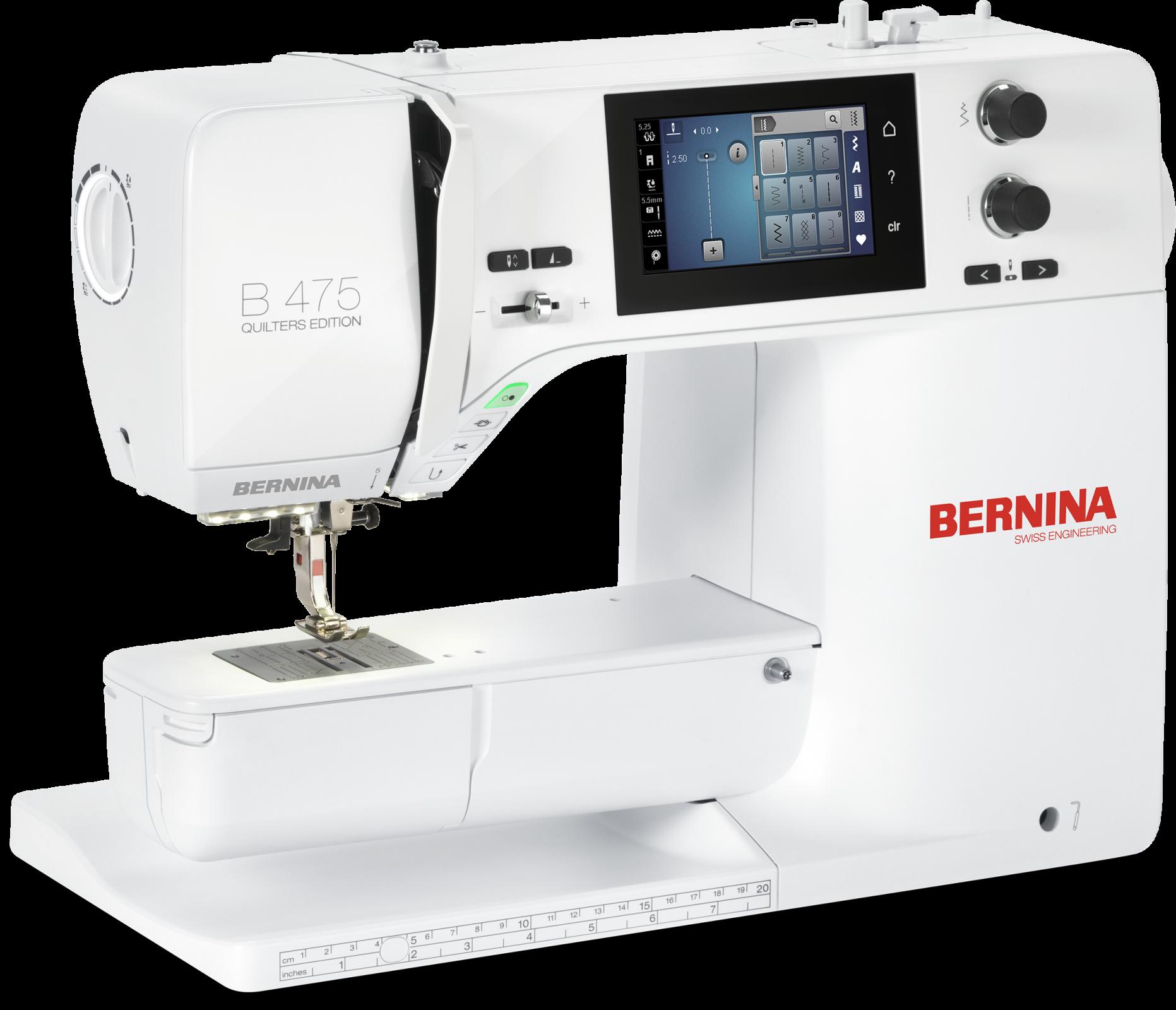 BERNINA 475 QE Sewing Machine