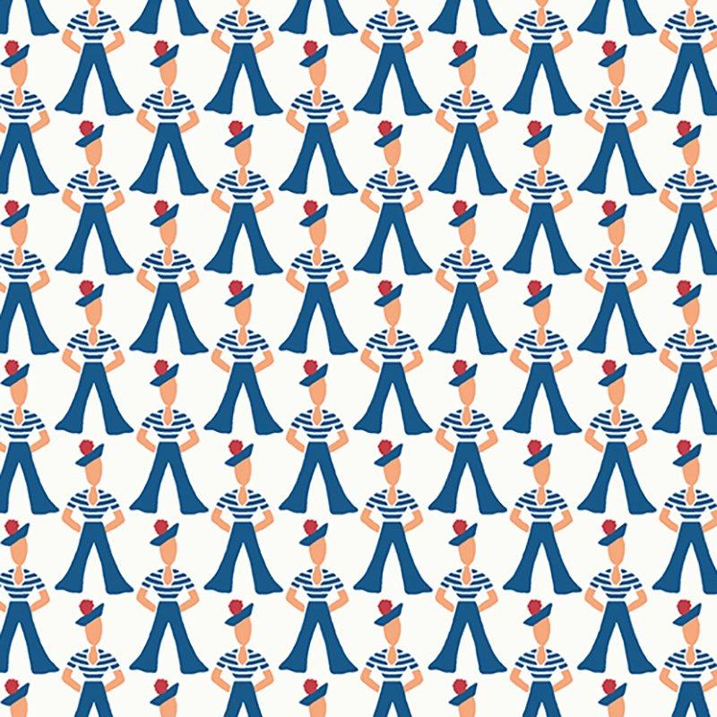 Lottie Ruth - Gondilier Blue 8776-B
