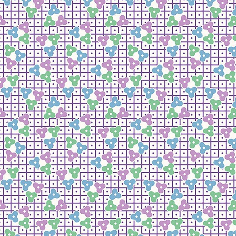 Lottie Ruth - Lattice Purple 8779-P