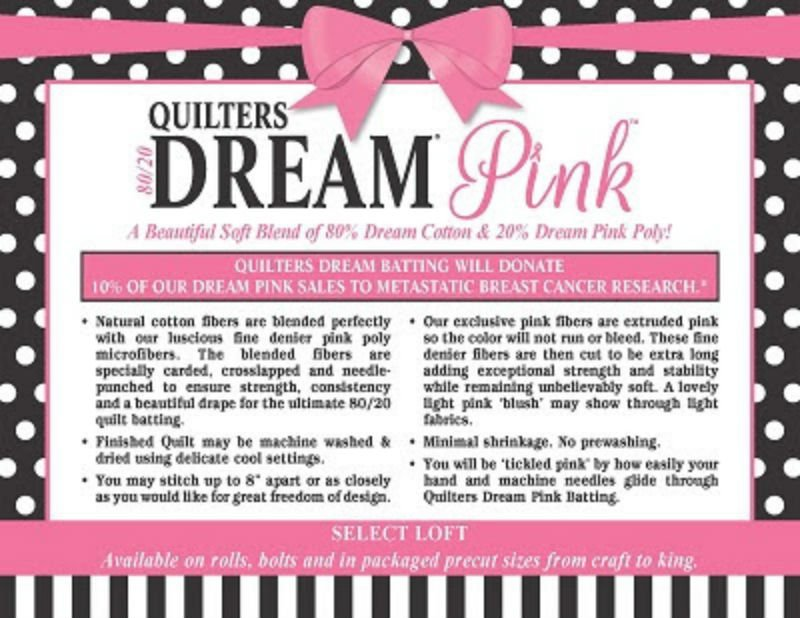 Quilter's Dream Pink - Throw