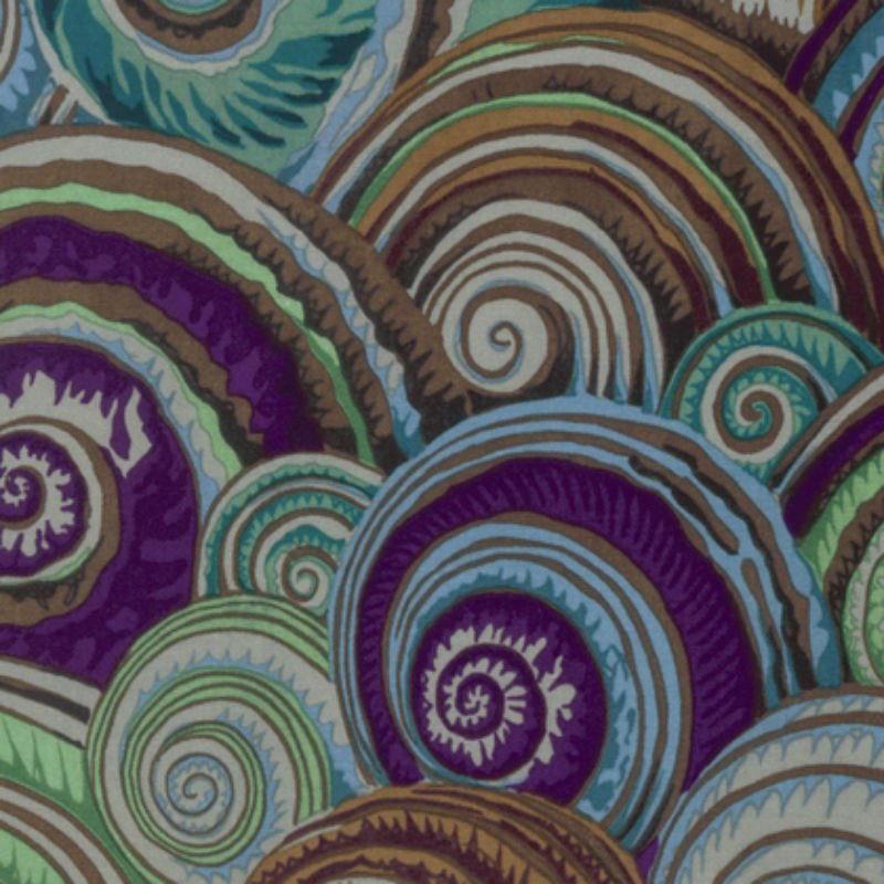 SALE Kaffe Fassett Collective Fall 2016 - Spiral Shells Antique PWPJ073-Antiq