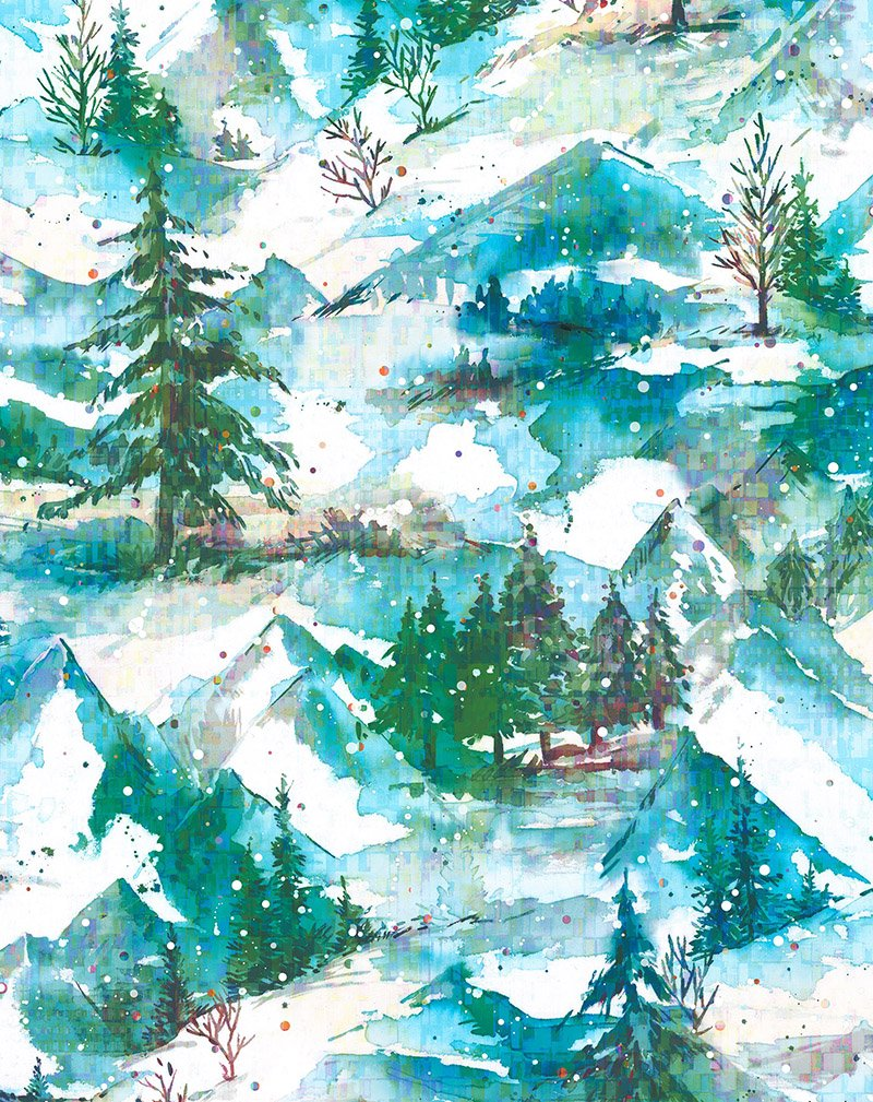 Pineview Digital - Winter Holiday Frost RJ402-FR1D