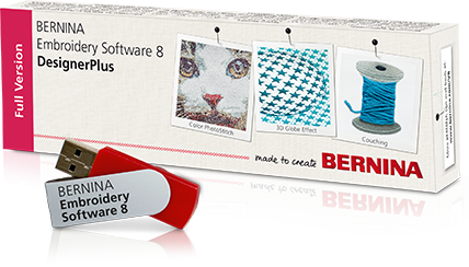 BERNINA Embroidery Software V8.1 - Full