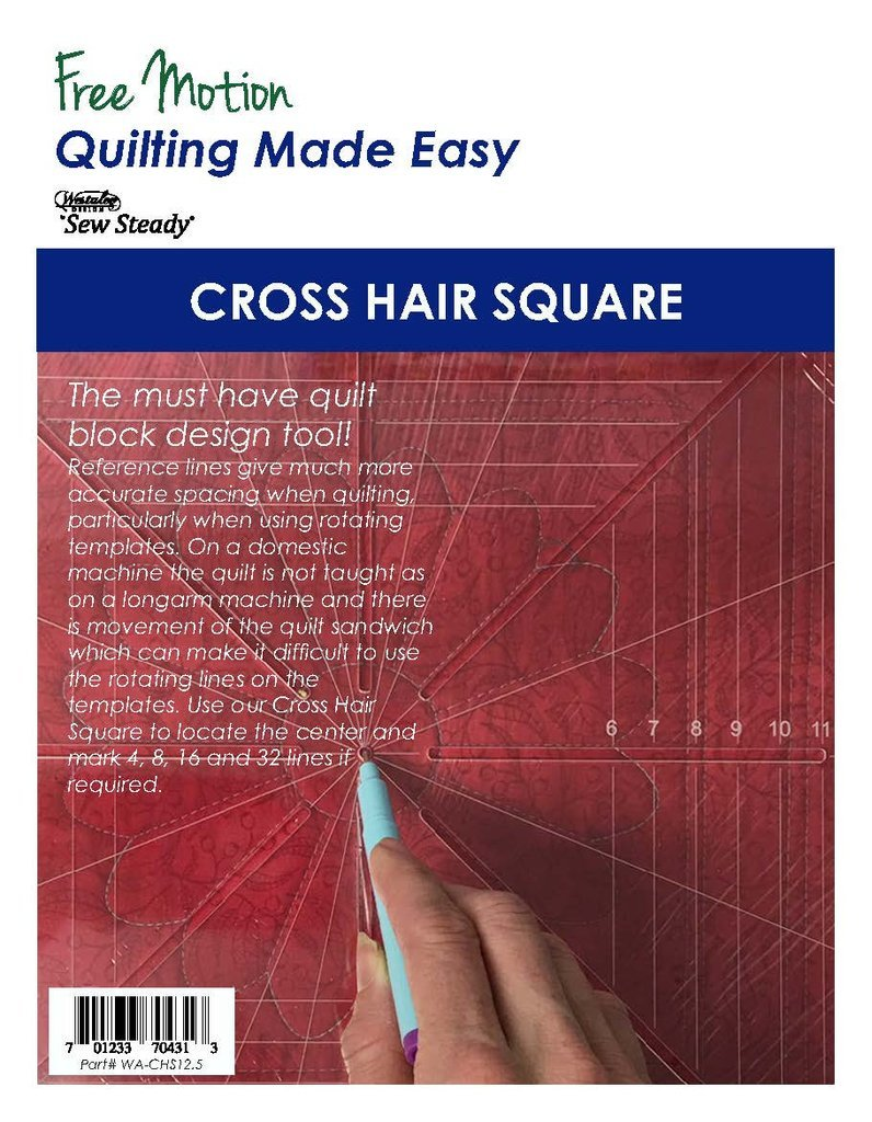 Cross Hair Square - 12.5