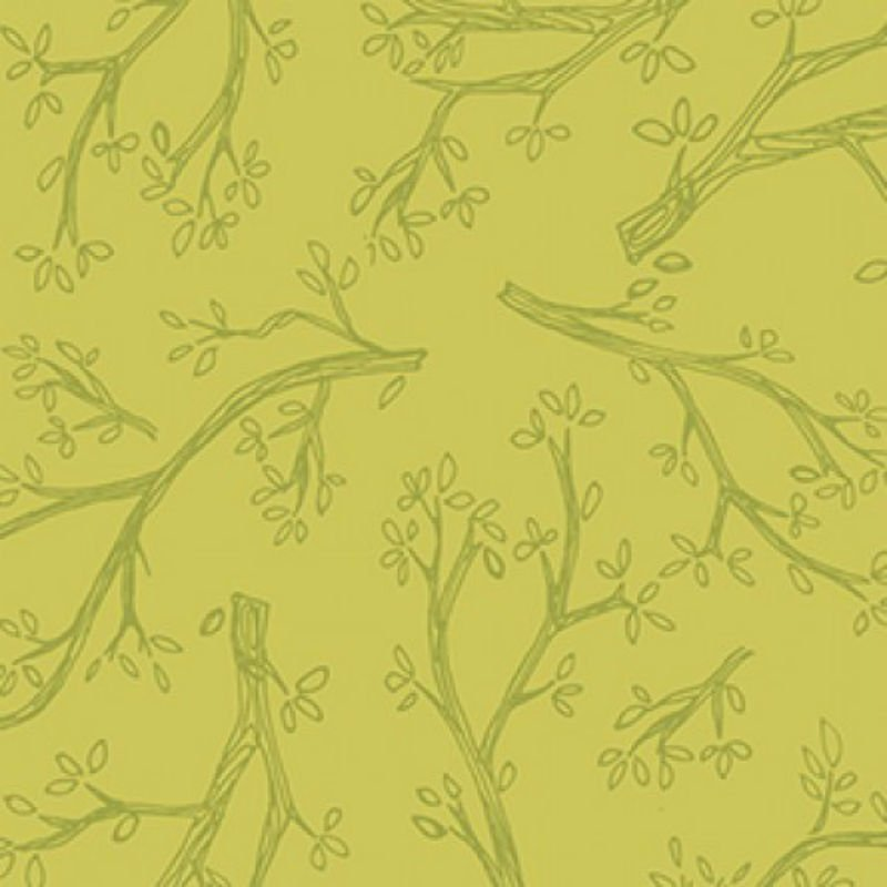 Spring Robins - Branches Olive Y2375-24