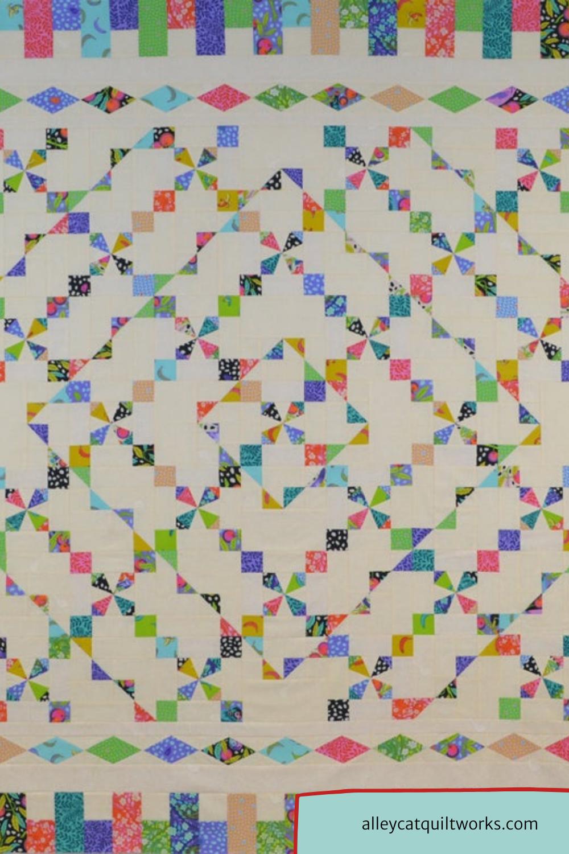 Ticker Tape Parade Quilt Pattern - Michelle Hiatt - Sew On The Go