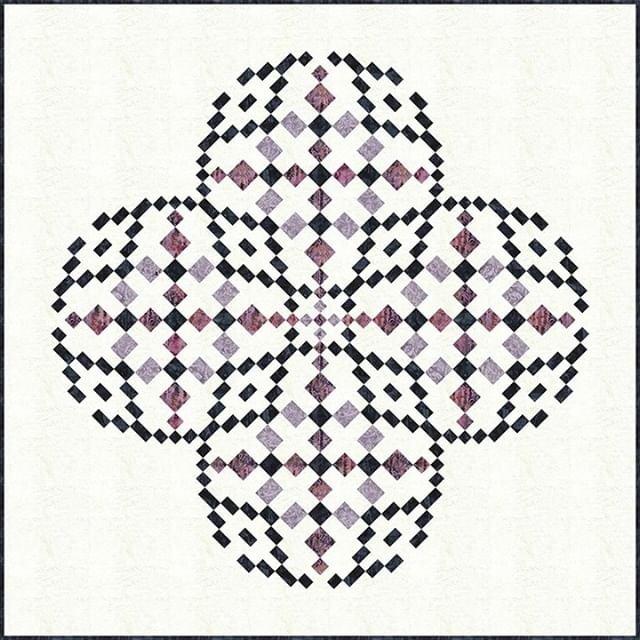 Abstraction Quilt Pattern - Deb Tucker - Studio 180 Design