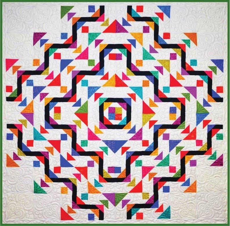 Birds on Wire Quilt Pattern - Michelle Hiatt - Sew on the Go