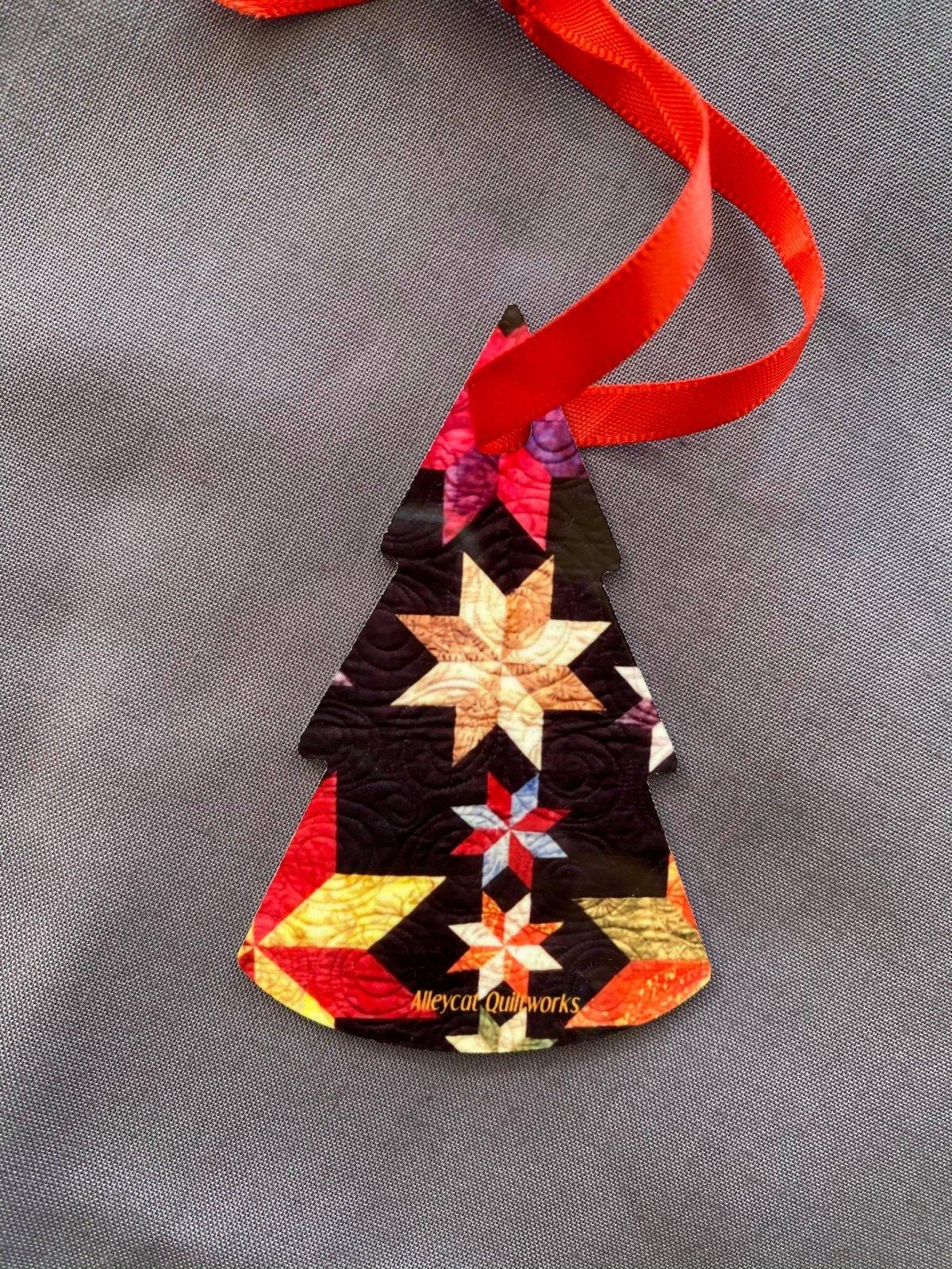 Metal Ornament - Constellation - Tree