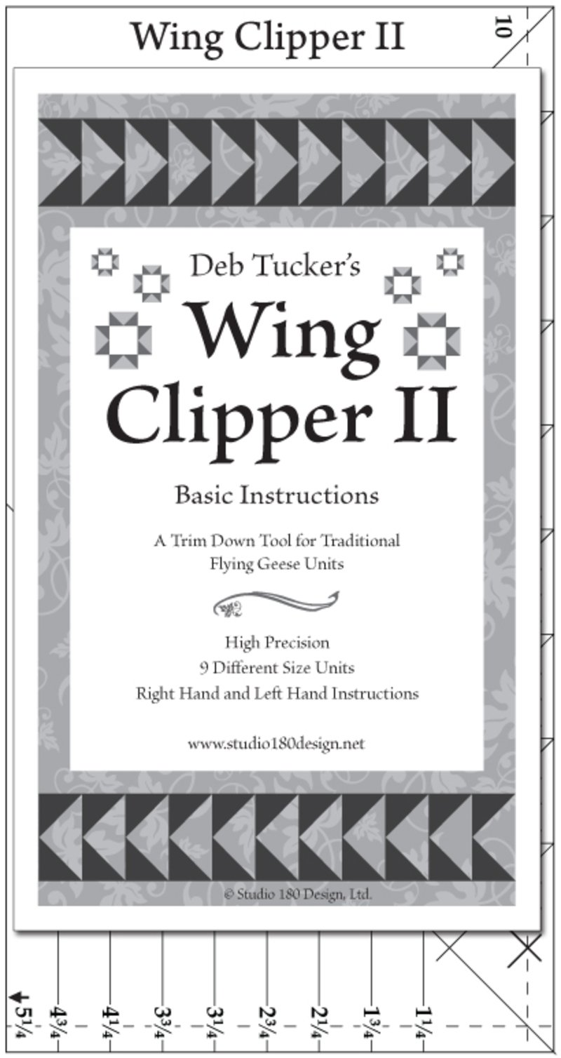 Wing Clipper II - Deb Tucker - Studio 180 Design