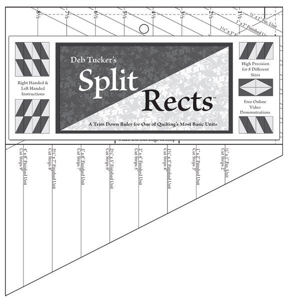 Split Rects - Deb Tucker - Studio 180 Design