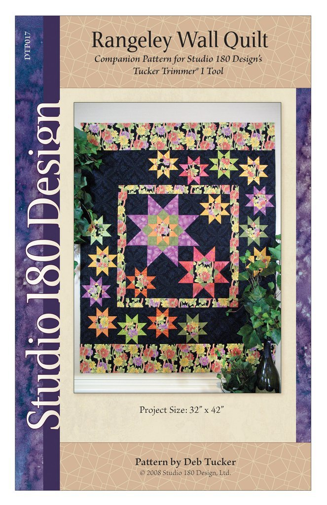 Rangeley Wall Quilt Pattern - Deb Tucker - Studio 180 Design