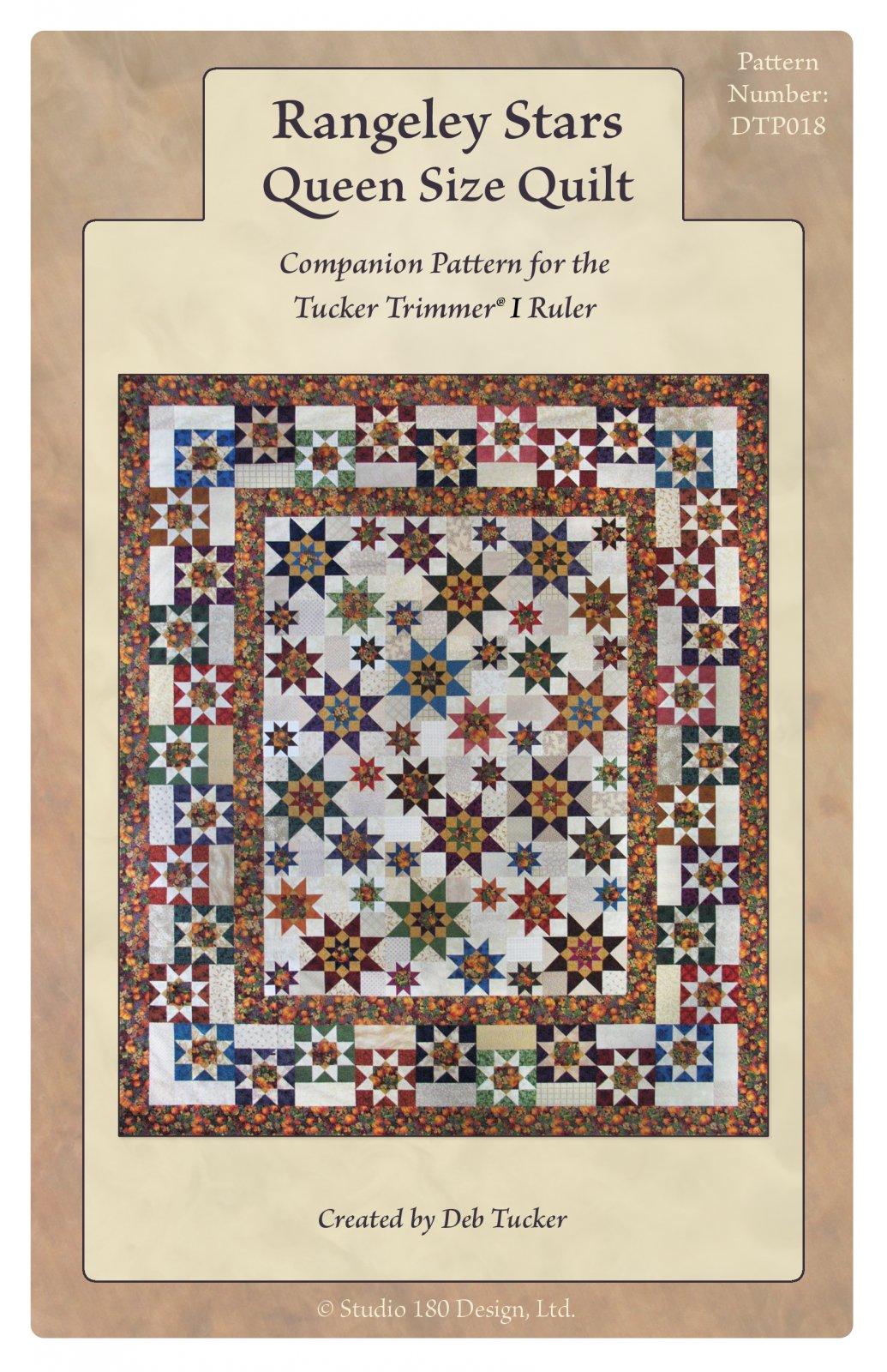 Rangeley Stars Quilt Pattern - Deb Tucker - Studio 180 Design