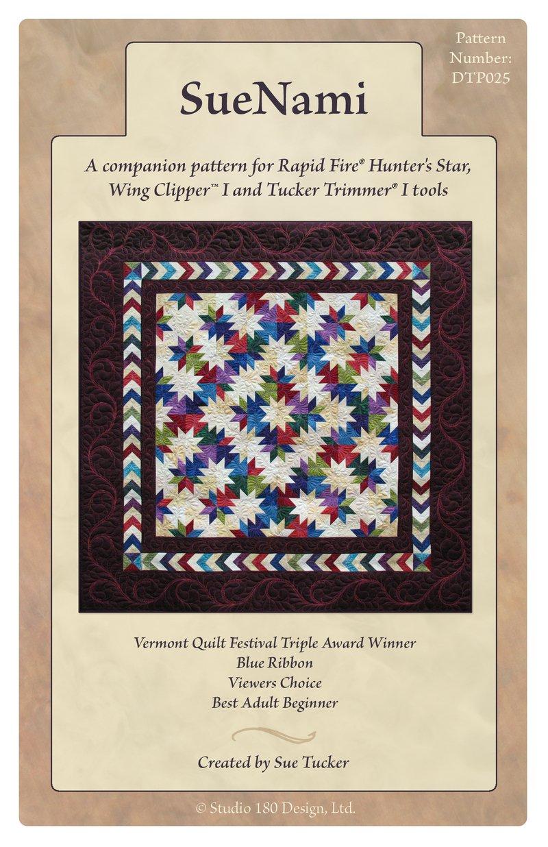 SueNami Hunter's Star Quilt Pattern - Studio 180 Design
