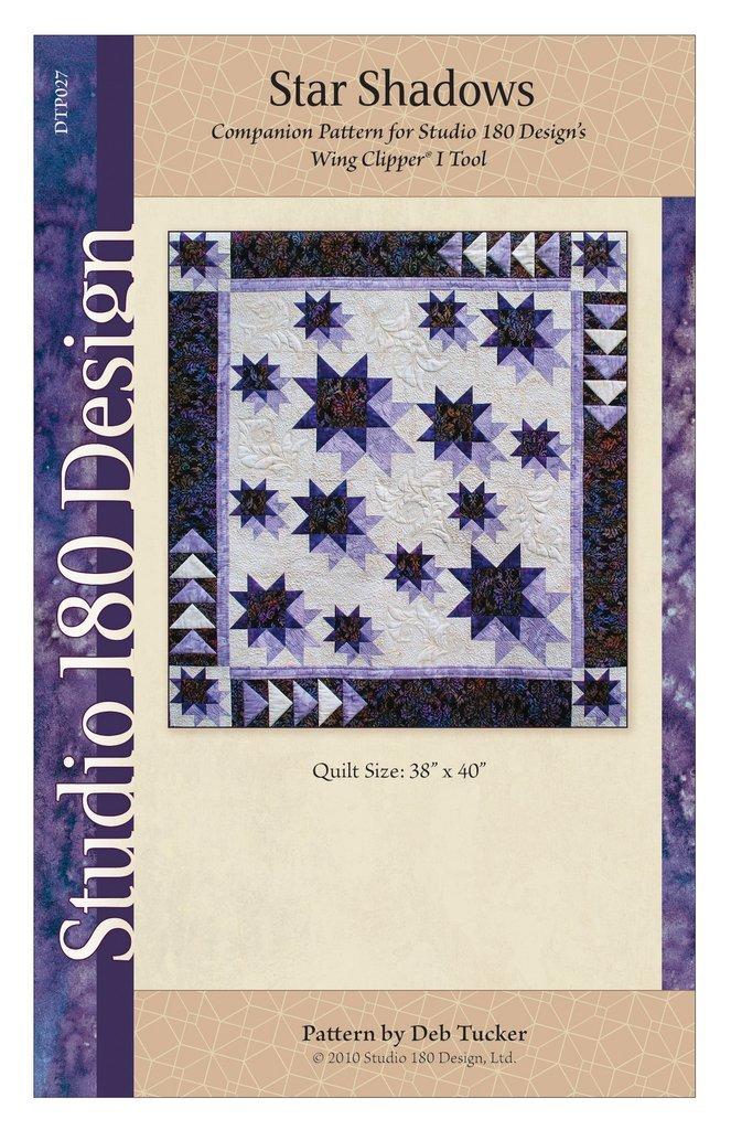 Star Shadows Quilt Pattern - Deb Tucker - Studio 180 Design