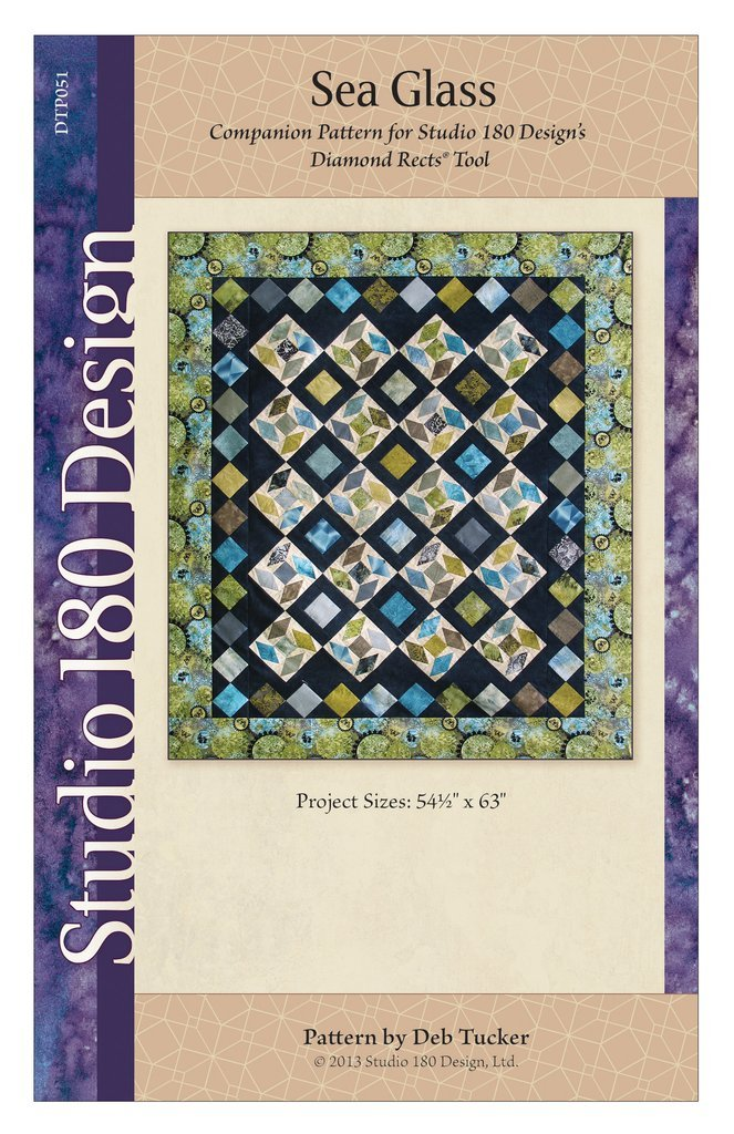 Sea Glass Quilt Pattern - Deb Tucker - Studio 180 Design