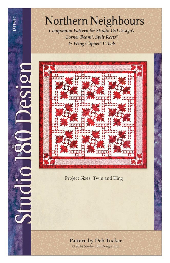 Northern Neighbours Quilt Pattern - Deb Tucker - Studio 180 Design