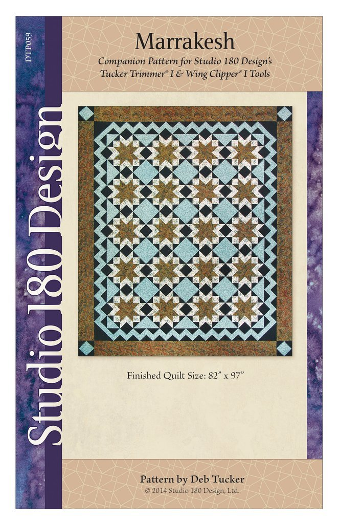 Marrakesh Quilt Pattern - Studio 180 Design - Deb Tucker