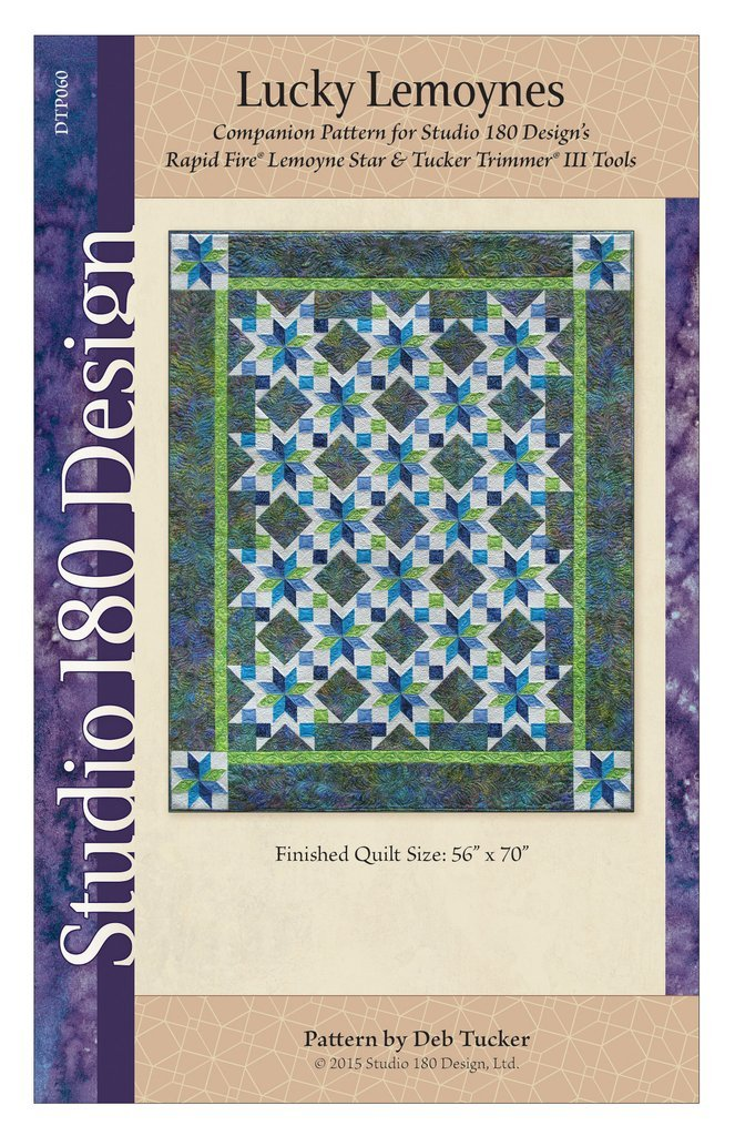 Lucky Lemoynes Quilt Pattern - Studio 180 Design - Deb Tucker