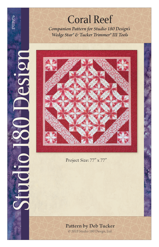 Coral Reef Quilt Pattern - Studio 180 Design - Deb Tucker