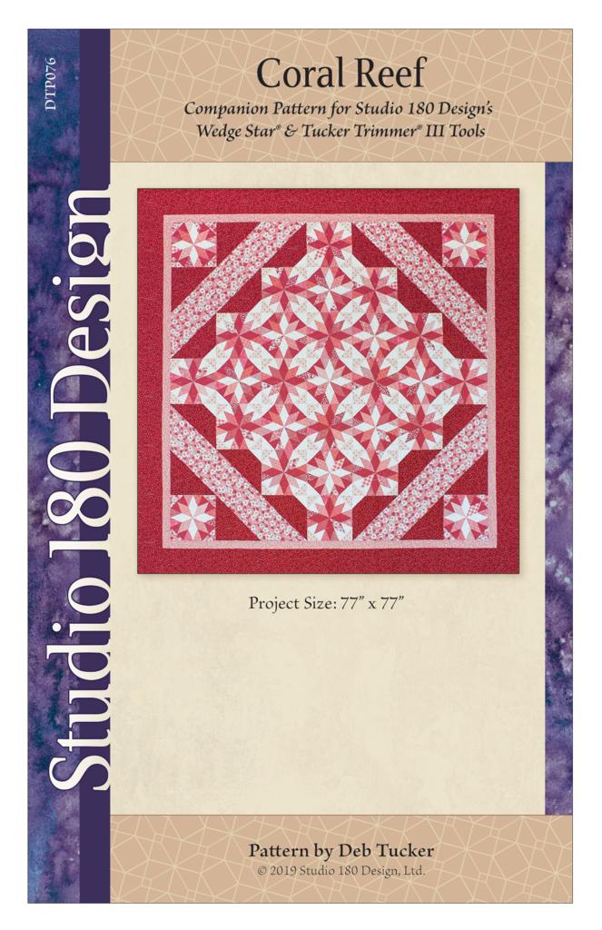 Coral Reef Quilt Pattern - Studio 180 Design - Deb Tucker
