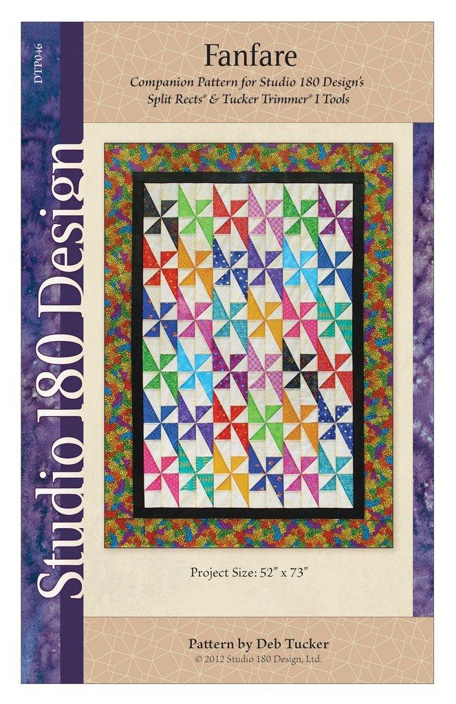 Fanfare Quilt Pattern - Deb Tucker - Studio 180 Design