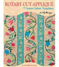 Rotary Cut Applique Book with Leaves Galore Templates