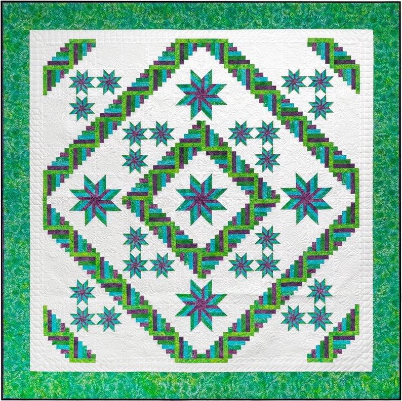 Liberty Court Quilt Pattern - Michelle Hiatt - Sew on the Go