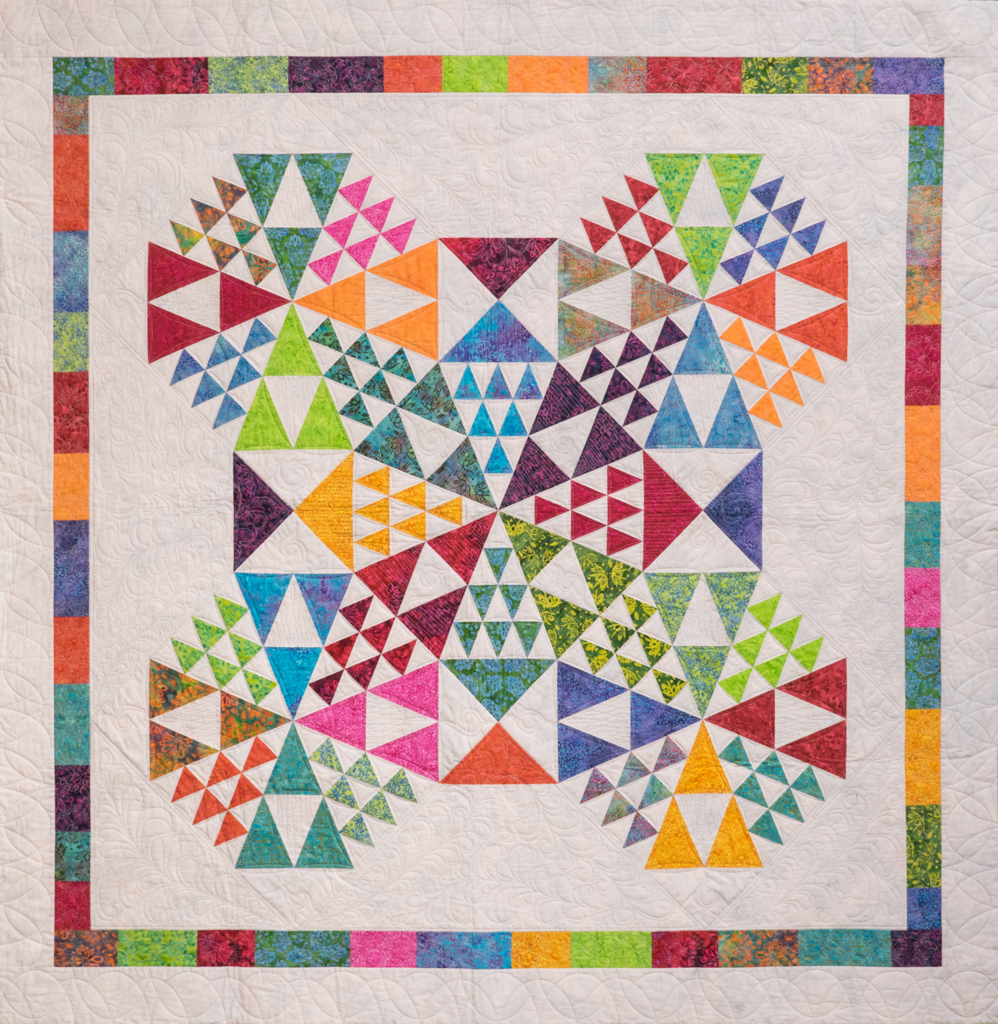 Full Spectrum Quilt Pattern - Deb Tucker - Studio 180 Design
