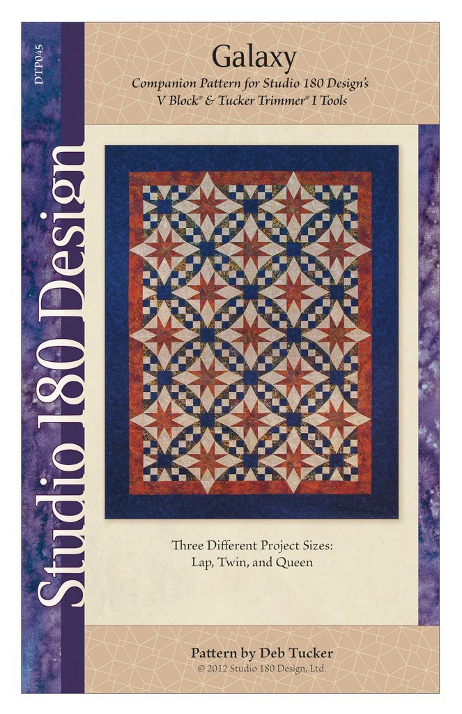 Galaxy Quilt Pattern - Deb Tucker - Studio 180 Design