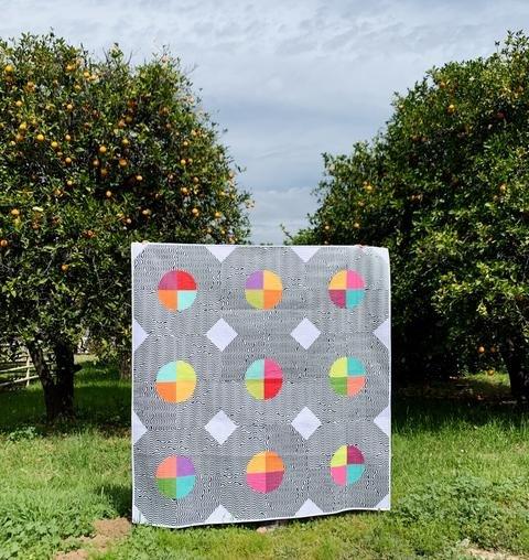FREE Digital Download - Breakfast Club Quilt Pattern  - Sew Kind of Wonderful