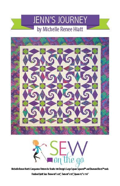 Jenn's Journey Quilt Pattern - Michelle Hiatt - Sew on the Go