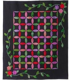 Melissa's Quilt - A Leaves Galore Pattern