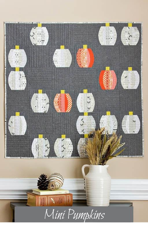 Mini Pumpkins Quilt Pattern - Sew Kind of Wonderful