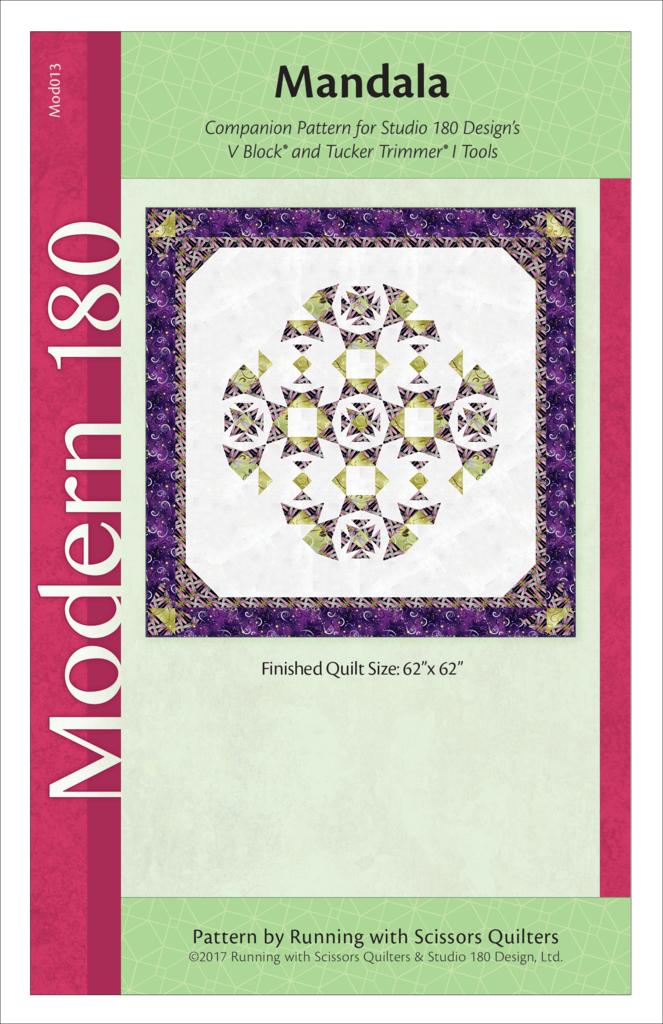 Mandala Quilt Pattern - Studio 180 Design - Modern 180