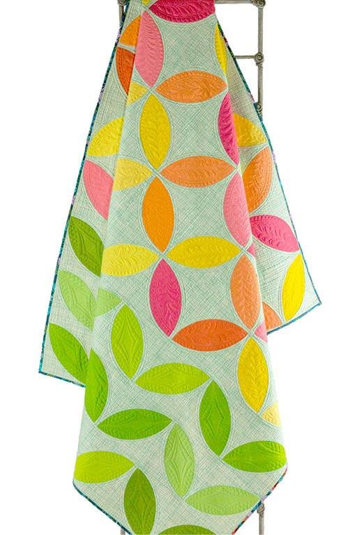 Mod Citrus Quilt Pattern by Sew Kind of Wonderful