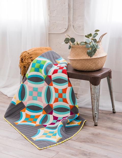 FREE Digital Pattern - Nine Patch on Point Quilt Pattern - Sew Kind Of Wonderful