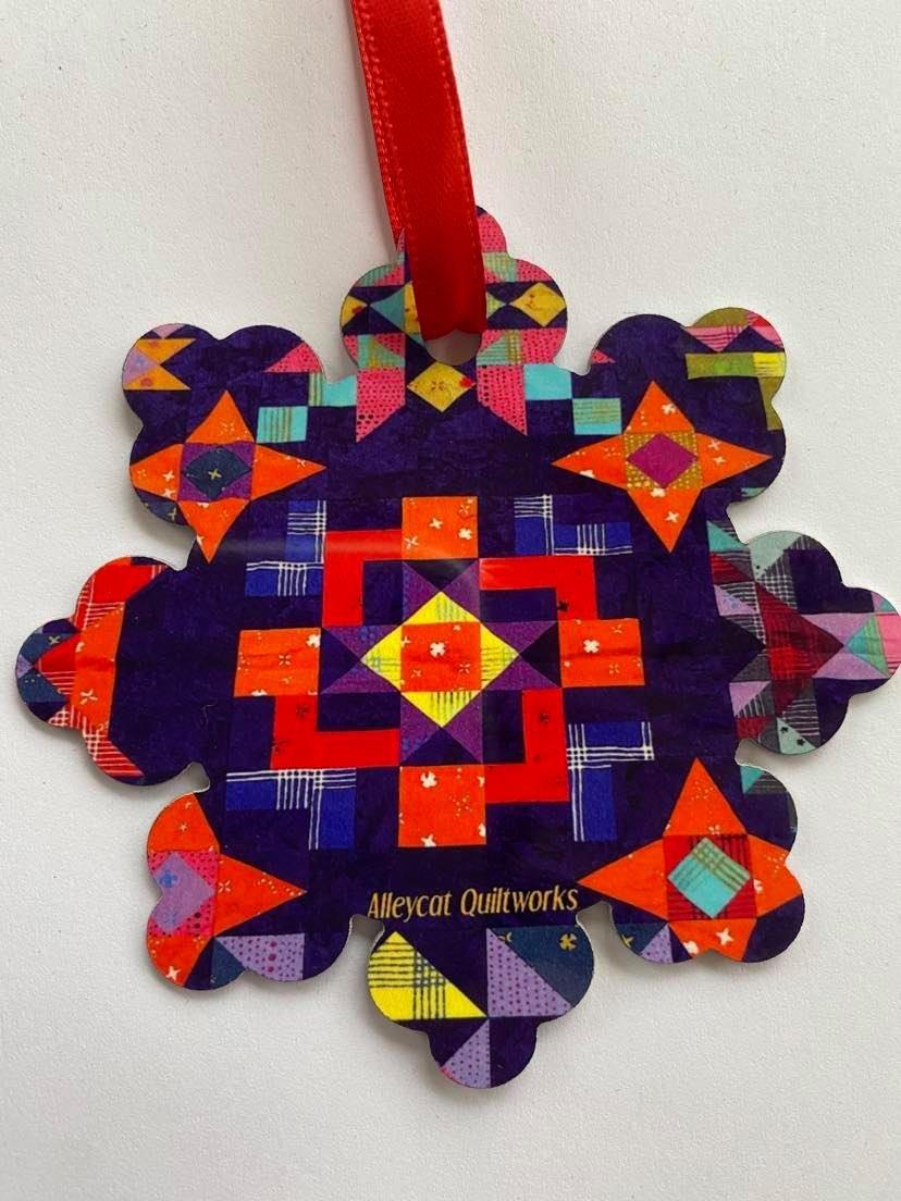 Metal Ornament - OH Hi O my Stars - Snowflake