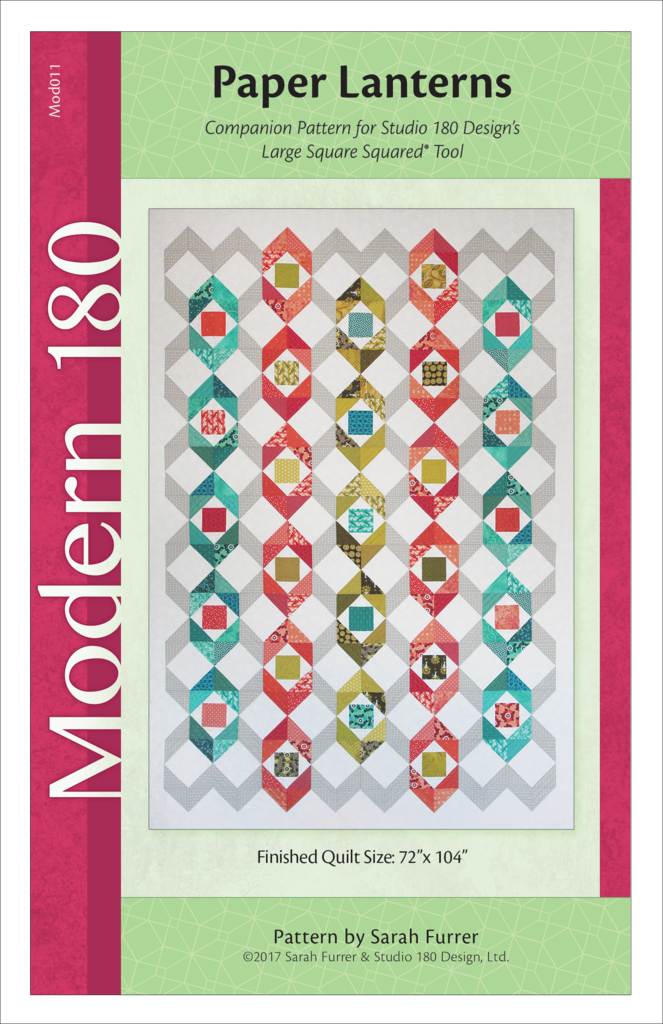 Paper Lanterns Quilt Pattern - Studio 180 Design