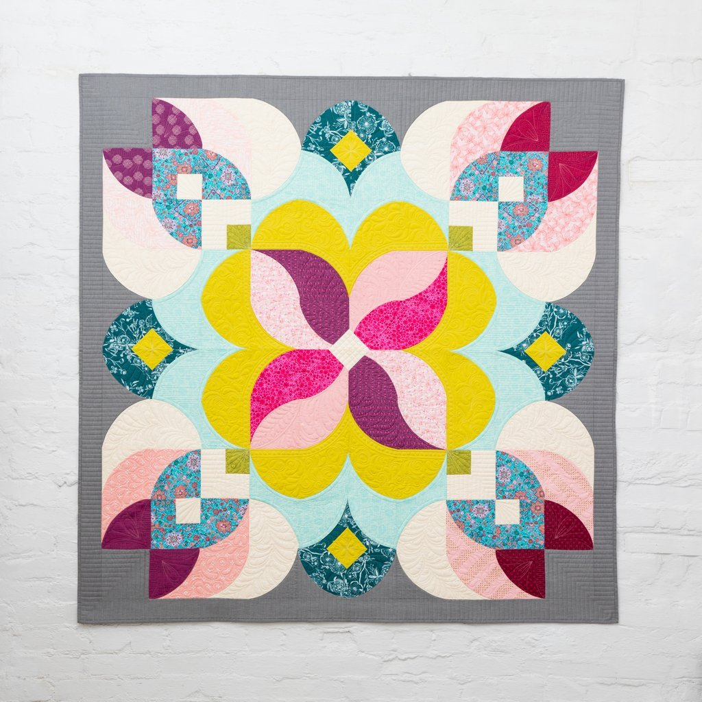 Posh Blossom Quilt Pattern - Sew Kind of Wonderful